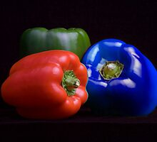 Red, Green and Blue by Vanessa  Warren