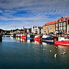Eyemouth Harbour, Scottish Borders, Scotland by David Lewins