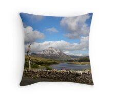 Mount Errigal Throw Pillow
