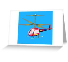 Henry the Helicopter Greeting Card