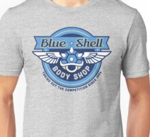 Blue Shell Auto Body Unisex T-Shirt