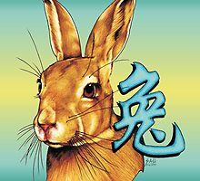 Year of the Rabbitt by Sheryl Unwin
