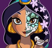 Sugar Skull Series: Jasmine by Ellador