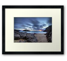 'Murder Hole Beach' 2 Framed Print