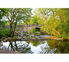 Skelwith Bridge Nr Ambleside  Photographic Print
