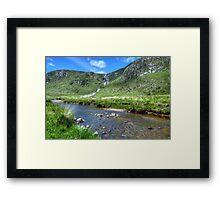Glenveagh Waterfall Framed Print
