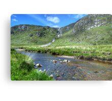 Glenveagh Waterfall Metal Print