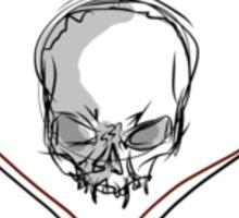 Messy Alkaline Trio Heartskull Sticker