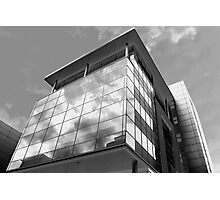 Highrise in Glass Photographic Print