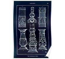 A Handbook Of Ornament With Three Hundred Plates Franz Sales Meyer 1896 0237 Supports Candelabrum Base Inverted Poster