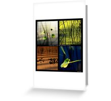 If there is light in the soul Greeting Card