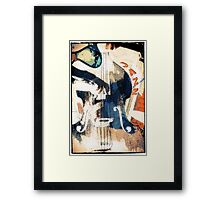 Double bass Jazz Poster Framed Print