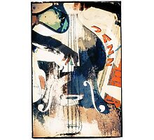 Double bass Jazz Poster Photographic Print