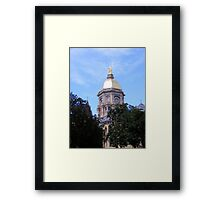 Main Building ~ Notre Dame University Framed Print