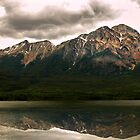 Patricia Lake &amp; Pyramid Mountain  by Sean Jansen