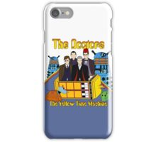 The Yellow Time Machine iPhone Case/Skin