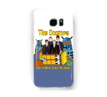 The Yellow Time Machine Samsung Galaxy Case/Skin