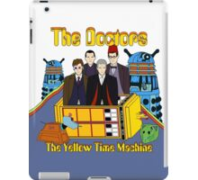 The Yellow Time Machine iPad Case/Skin