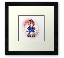 It's ME, Mario !  Framed Print