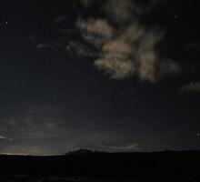 Kilimanjaro by Moonlight by Baraman