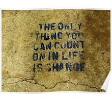 Concrete Wisdom Poster