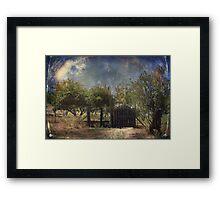 Beyond the Gate Framed Print