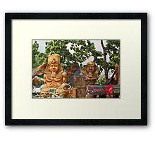 Quezon Memorial Circle: Circle of Fun Pharoah 27 Framed Print