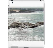 Cornish coastline iPad Case/Skin