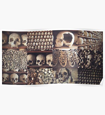 Skulls in the Crypt! Poster