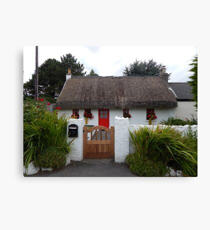 Irish Cottage Canvas Print