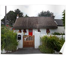 Irish Cottage Poster