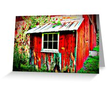I Love Barns ~ Bronson's Red :) Greeting Card