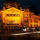 Flinders Street Station, Melbourne [r] by DavidsArt