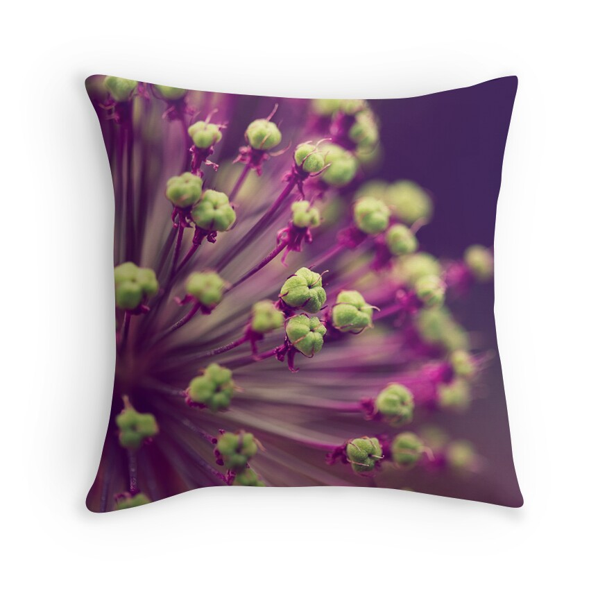 Purple And Lime Green Throw Pillows : Purple and Lime Green Throw Pillows by ameliakayphotog Redbubble