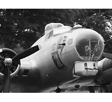 B17 Bomber Photographic Print