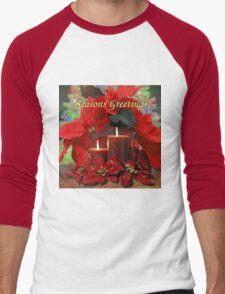 Season's Greetings Men's Baseball ¾ T-Shirt