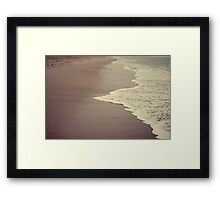 Hello Ocean! Framed Print