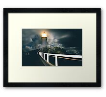 LIGHTHOUSE PASSION Framed Print
