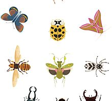 Insect stickers by An Nuttin