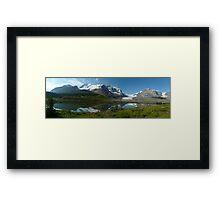Athabasca...a Gigapan panorama Framed Print