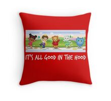 Daniel Tiger in white Throw Pillow