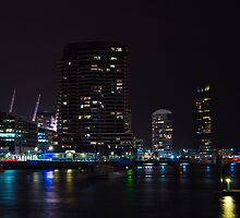 Melbourne at night 11 [r] by DavidsArt