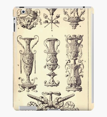 A Handbook Of Ornament With Three Hundred Plates Franz Sales Meyer 1896 0139 Artificial Objects Miscellaneous iPad Case/Skin