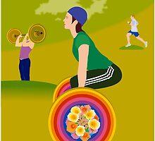 Lifting Rainbow by seehaikuhere