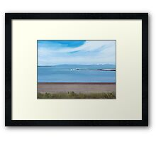 Oppies At Pwllheli Framed Print