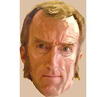 Portal 2 - Cave Johnson's Head Photographic Print
