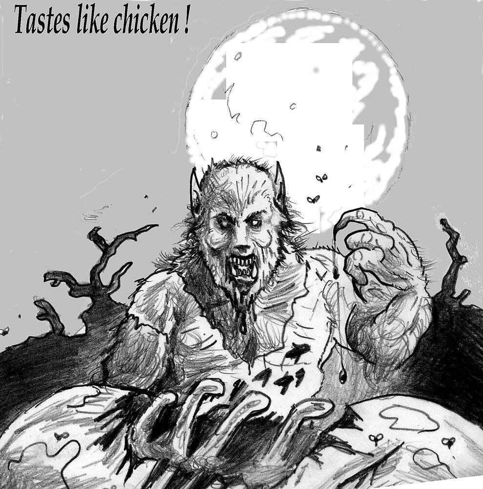 tastes like chicken ( finger lickin' good ! ) by mattycarpets