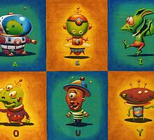 Introducing the Vowels... by Mike Cressy