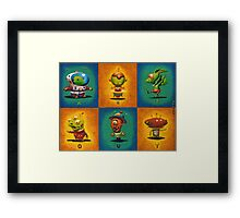Introducing the Vowels... Framed Print