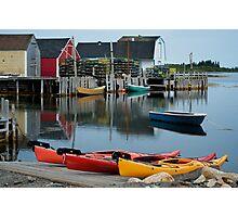 Blue Rocks Nova Scotia Canada Photographic Print